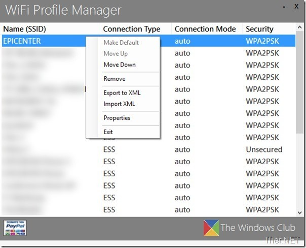 WiFi-Profile-Manager