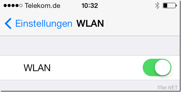 iPhone - WLAN nach Backofen-Reparatur