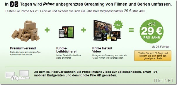 Prime-mit-Streaming