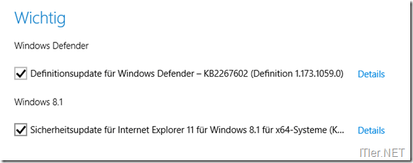 Windows-Update-Internet-Explorer-Sicherheitslücke