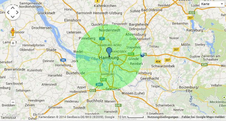 Umkreis Maps