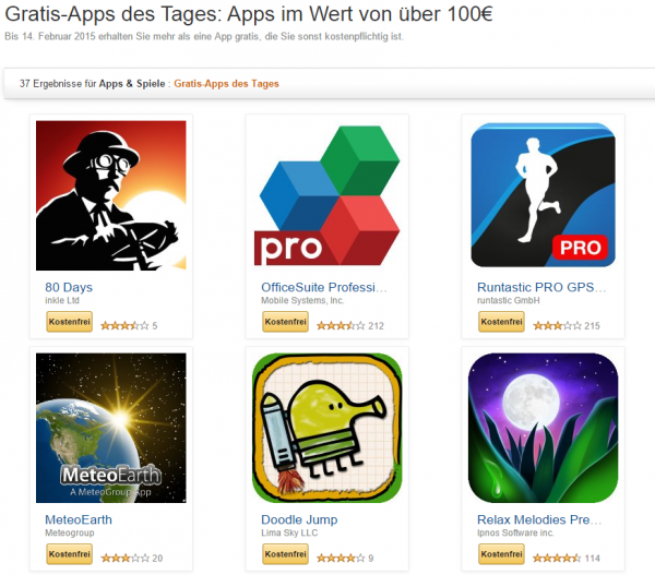 Gratis-Apps-Amazon-14-Februar-2015