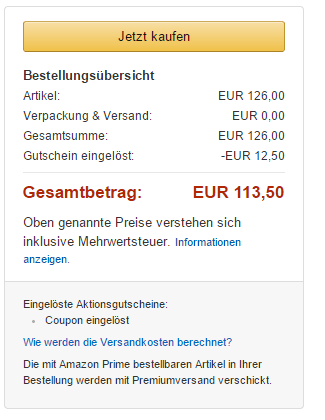 Amazon-Coupon-einlösen