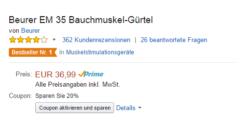 Coupon-Amazon-aktivieren