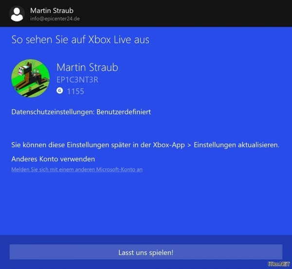 Windows 10 - so streamt man XBOX Games (2)
