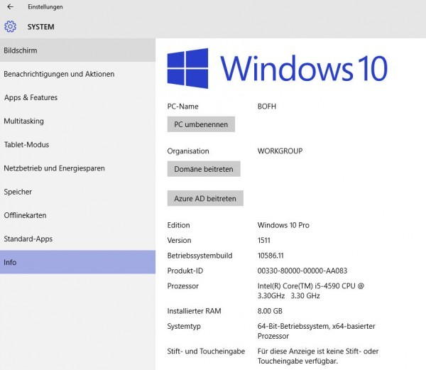 Windows-10-Version-Info