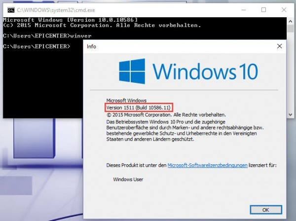 Windows-10-Version-heraus-finden