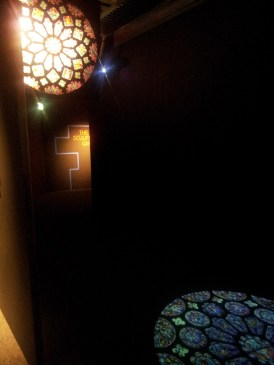 Rosone e la sua proiezione sul pavimento