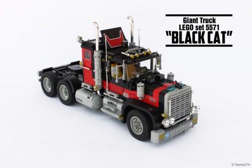 """#5571, Giant truck """"Black Cat"""" (1)"""