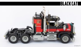 "#5571, Giant truck ""Black Cat"" (3)"