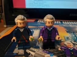 Confronto tra Dottori: quello di LEGO Dimensions e questo.
