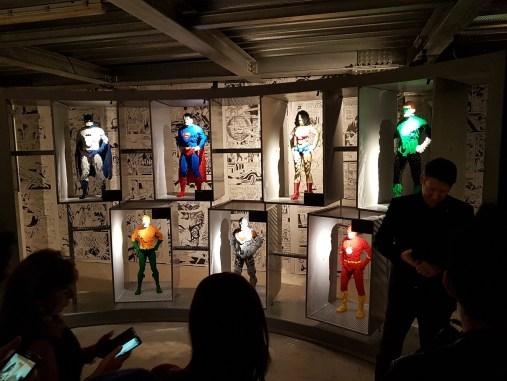 Alcuni dei super eroi DC
