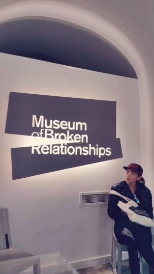 The Museum of Broken Relationships is a museum in Zagreb, Croatia, dedicated to failed love relationships