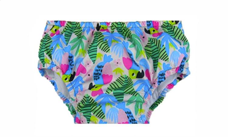 Fralda de piscina de arara para férias de verão Petit Papillon It Mãe