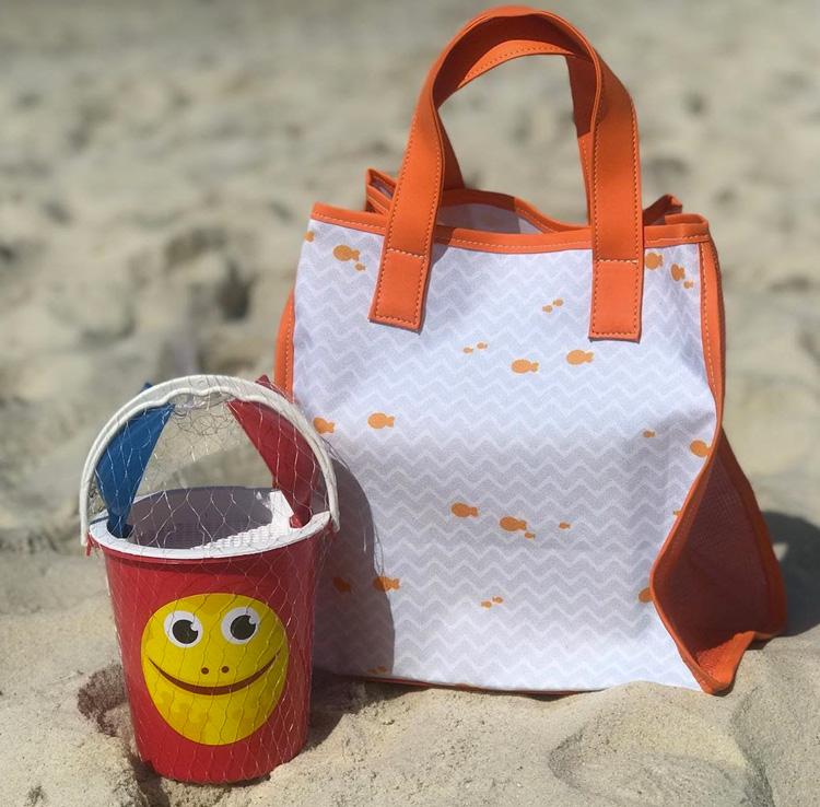 Kit praia para férias de verão Jujuba It Mãe