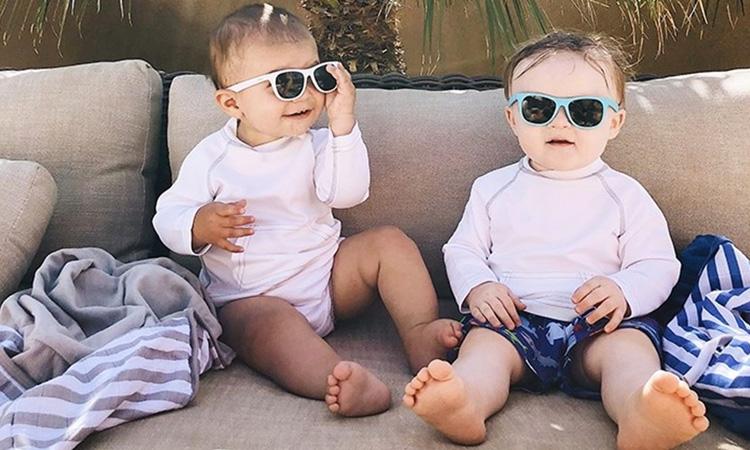 Óculos de sol infantil Azzor Baby e Kids It Mãe