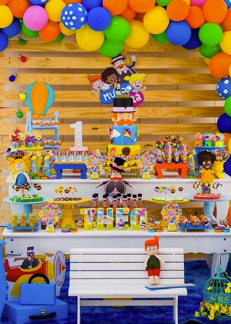 Festa Infantil Mundo Bita It Mãe