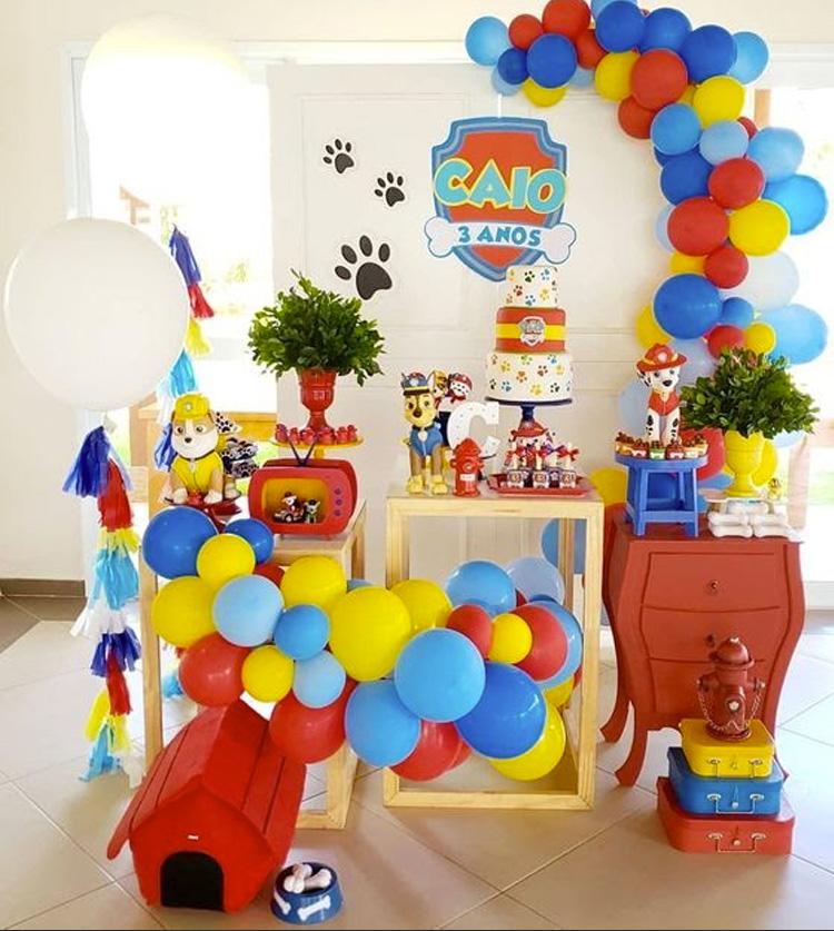 Festa Infantil Patrulha Canina It Mãe