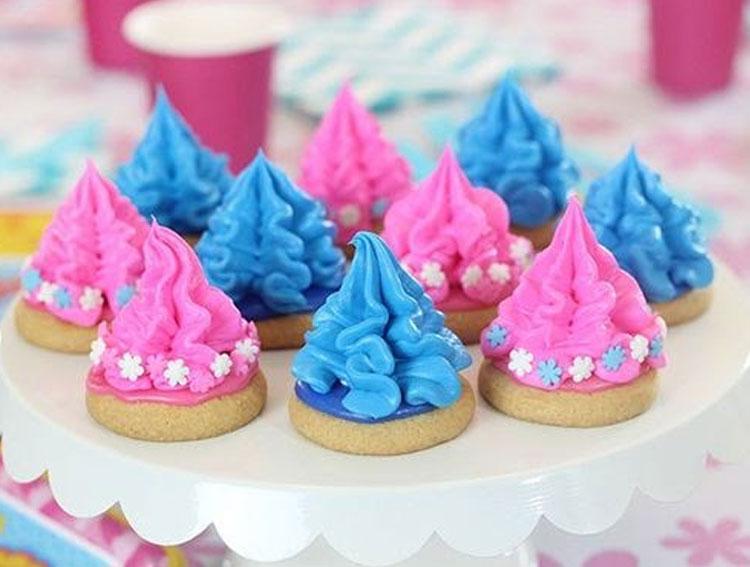 Biscoitos decorados Festa Trolls 2 Festabox It Mãe