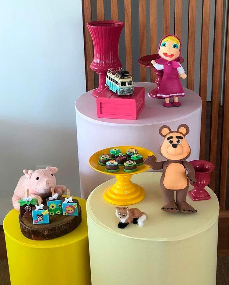 Aniversário Masha e o Urso - Le Petit Personnaliser - It Mãe
