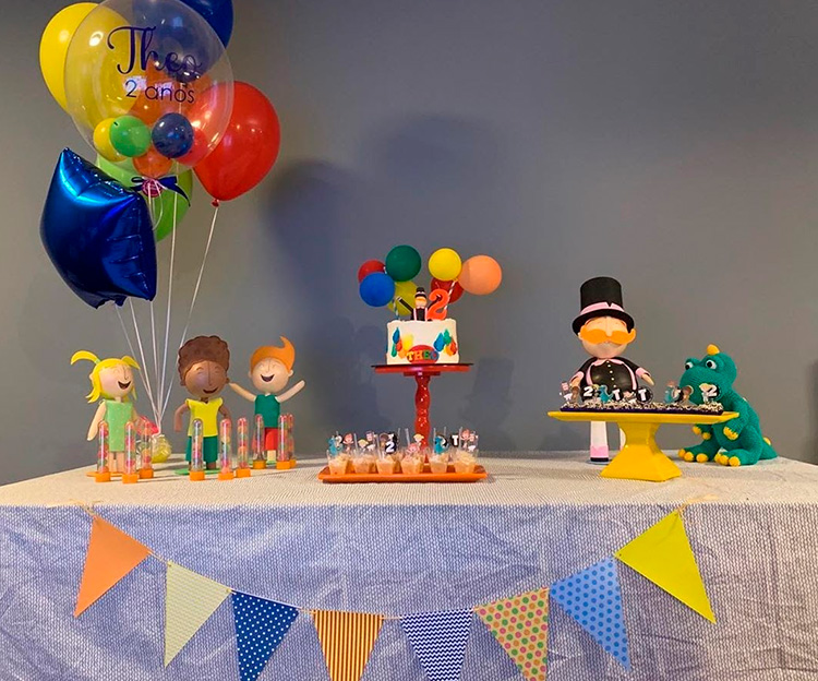 Festa em casa para crianças Mundo Bita - Le Petit Personnaliser - It Mãe