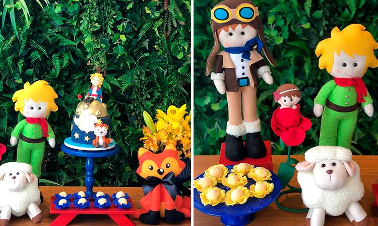 Festa em casa para crianças Pequeno Príncipe - Le Petit Personnaliser - It Mãe