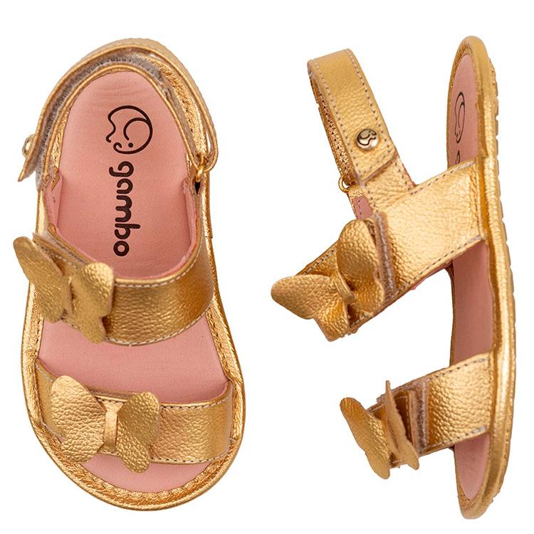Sandália dourada Gambo Laranjeiras Kids Mala de viagem das crianças - It Mãe