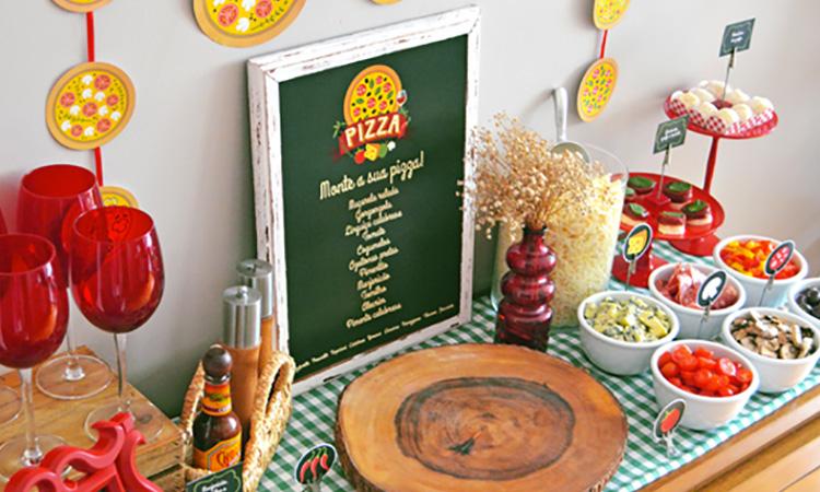 Ideias para uma noite da pizza em casa - It Mãe