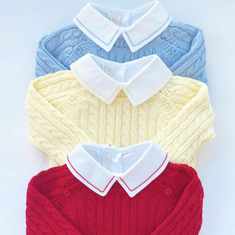 Suéters coloridos para momentos especiais do bebê Petrushko Baby - It Mãe