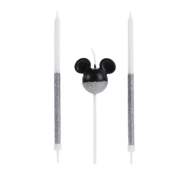 Trio de velas Festa Disney - It Mãe