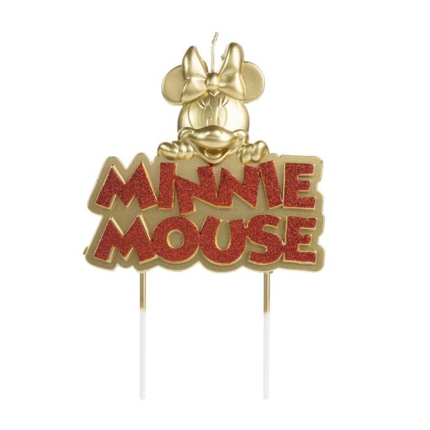 Placa minnie mouse Festa Disney - It Mãe