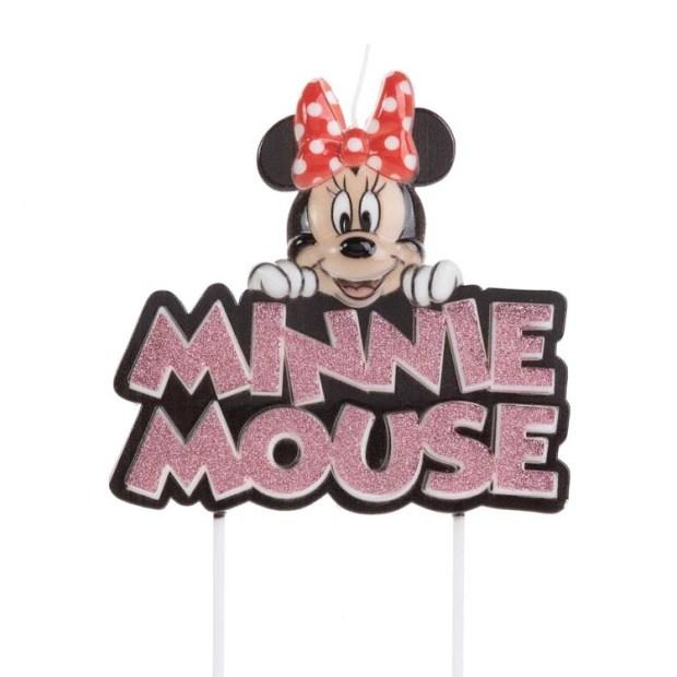Vela Minnie Festa Disney - It Mãe