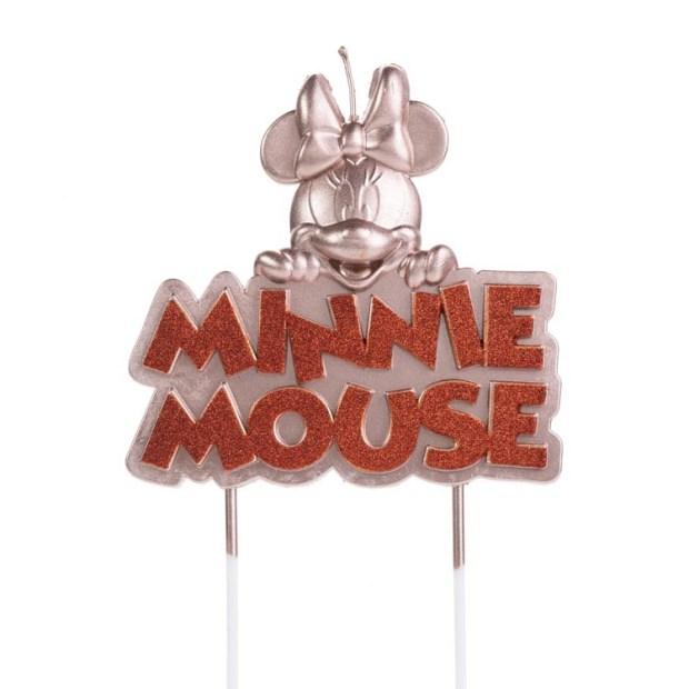 Vela Minnie Mouse Festa Disney - It Mãe