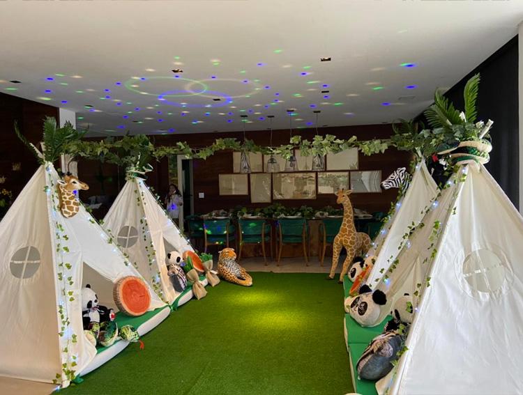 cabanas personalizadas camping em casa pijamas party it mãe