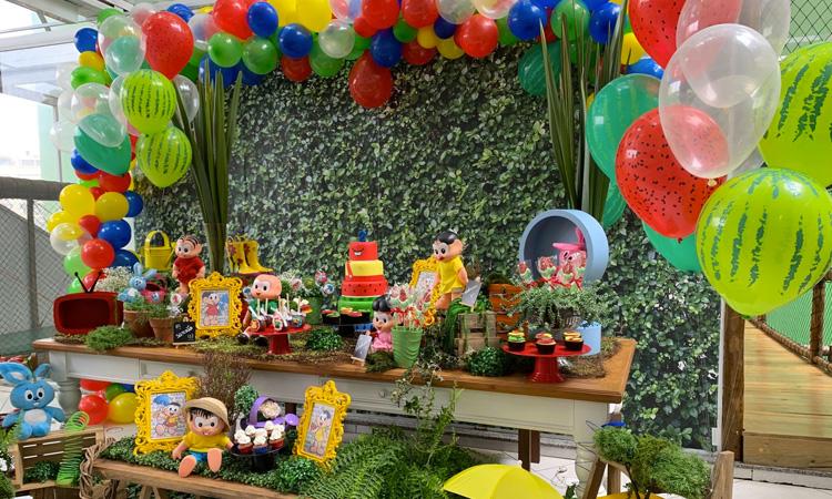 Festa de aniversário presencial segura para as crianças Espaço Viva - It Mãe