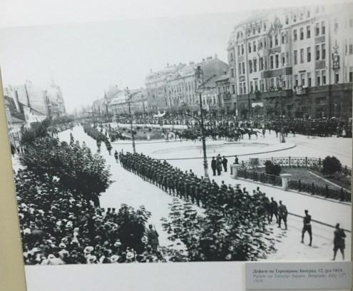 Victory parade in Belgrade, 1919