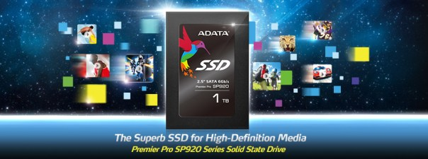 Adata SP920 SSD - Header