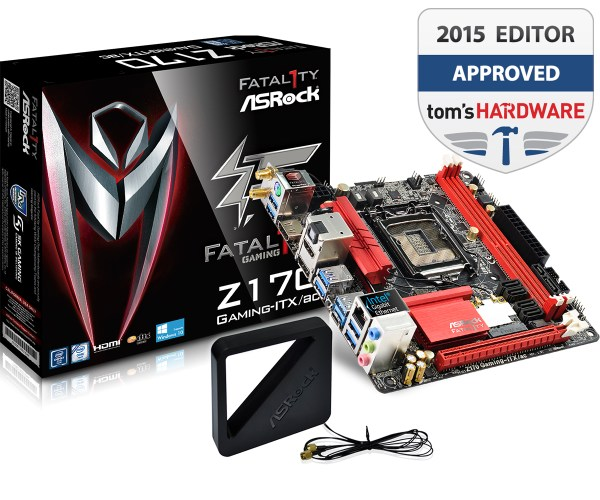 Fatal1ty Z170 Gaming-ITX/ac Motherboard - Main