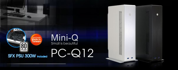 LianLi PC-Q12 Mini Tower Chasis Banner