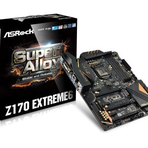 ASRock Z170 Extreme6 Motherboard Main