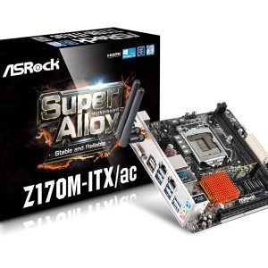 AS Rock Z170M-ITXac Motherboard - Main