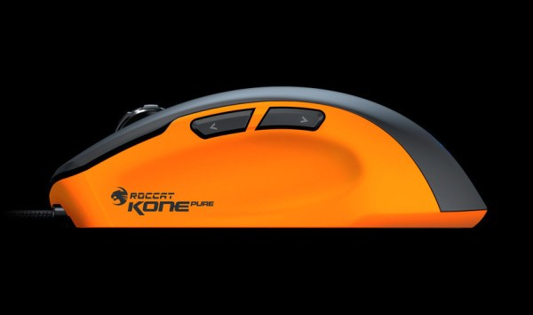 Roccat: Kone Pure Color Mouse - Orange