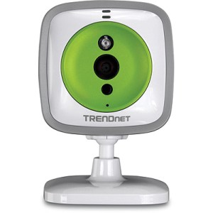 TRENDnet TV-IP743SIC Wireless Cloud Baby Camera - Front