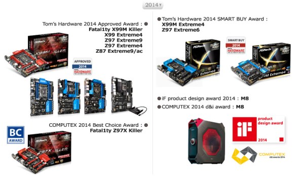 ASRock Industrial Awards - 2014