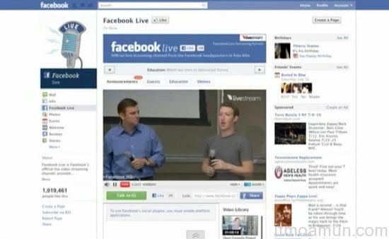 Facebook, Video Chat