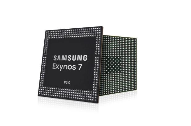 Samsung представила новый чипсет Exynos 9610