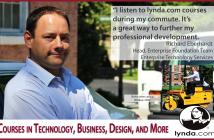 Use lynda.com for professional development