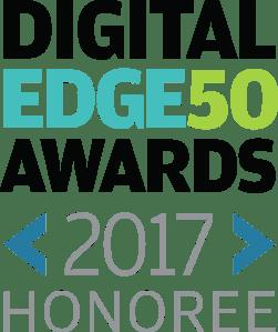 Digital Edge 50 Award graphic