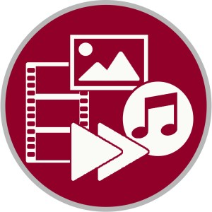 Multimedia icon for access streaming media