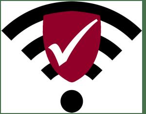 WiFi antivirus graphic